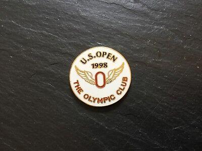 1998 US OPEN The OLYMPIC CLUB Logo GOLF BALL MARKER New Flat Coin LEE JANZEN