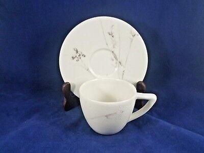 Calvin Klein Thistle (CALVIN KLEIN THISTLE (CREAM) Cup & Saucer 2 3/4