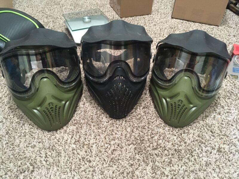 Empire Helix Paintball Mask Lot