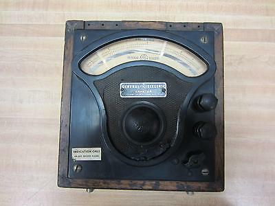 General Electric 3813094 Antique Amp Meter Vintage Industrial 39029