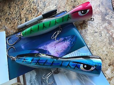 Offshore Popper (Massive 9in Custom Made Offshore/Canal Popper 5-1/4oz 10+ Quality $39.99 Value! )