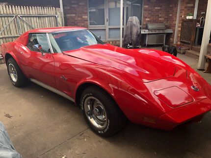 1973 Chevrolet Corvette Coupe Langwarrin Frankston Area Preview
