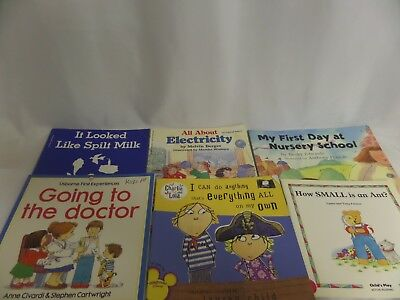 LOT OF CHILDRENS BOOKS ELECTRICITY SPILT MILK GOING TO DR EVERYTHING & ANYTHING