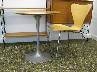 Arkana Tulip Table, aluminium base, 1960s 1970s bistro table Saarinen. Northants for sale  Kettering