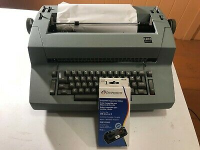 Ibm Selectric Ii Electric Typewriter - Beige With Extra Ribbon