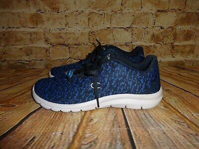 Champion Athletic Sneakers (Men's Champion Athletic Sneakers Shoes Blue Black Fabric Memory Foam SZ 8 M)