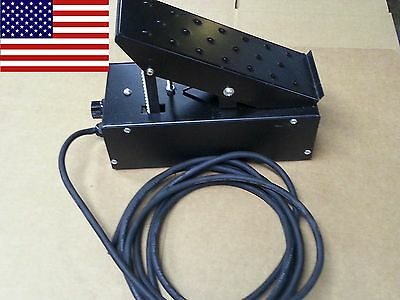 TIG Foot Pedal Control On/Off + Adjustable Current Control - 5 & 7 Pin - Off Foot Pedal