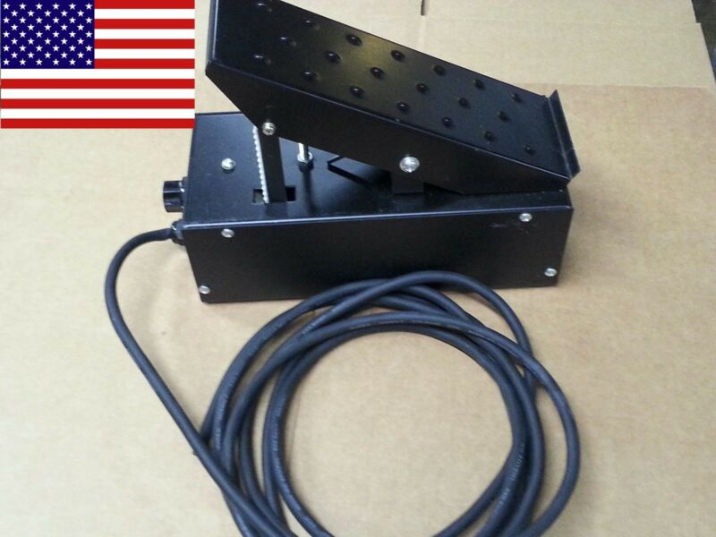 TIG Foot Pedal Control On/Off + Adjustable Current Control - 5 & 7 Pin Machines