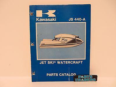 OEM Kawasaki Watercraft Parts Diagram Catalog Manual Jet Ski JS440 JS440A 1977