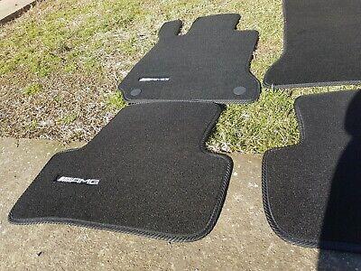 AMG floor mats set C-Class W204 S204 Sedan & Model T NEW Mercedes
