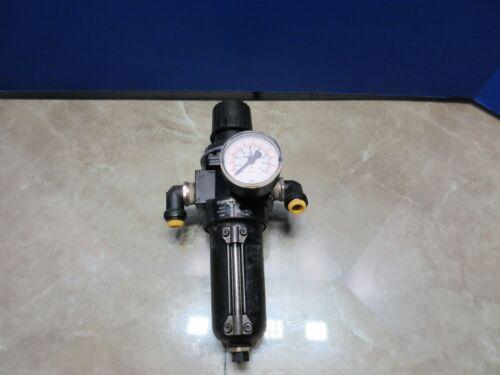 NORGEN VALVE W/ PSI GAUGE B08-497-A1MG  AIR FILTER REGULATOR CINCINNATI