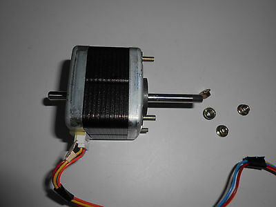 Double Shaft Stepper Motor Nema17 - Cnc Router Mill Robot Reprap Makerbot