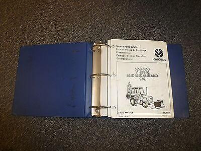 New Holland 675d Tractor Loader Backhoe Parts Catalog Manual Manual Book