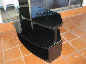 Black glass TV Stand Howard Springs Litchfield Area Preview