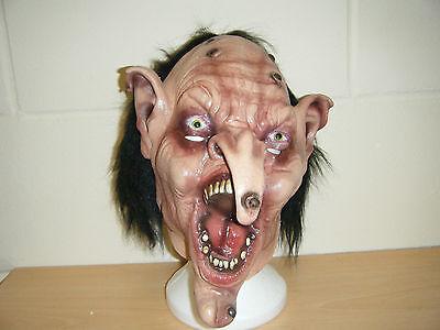Zombie Hexe Monster Wolf Scary Erwachsene Halloween Latexmaske Kostüm - Scary Monster Kostüm