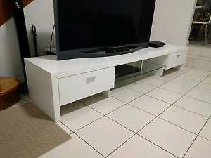 White TV Unit $200 Negotiable Cabramatta West Fairfield Area Preview