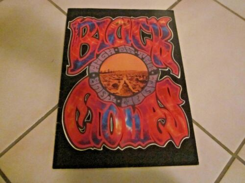 THE BLACK CROWES HIGH AS THE MOON TOUR PROGRAM BOOK
