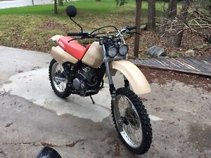 1991 XR250L street legal (price drop)