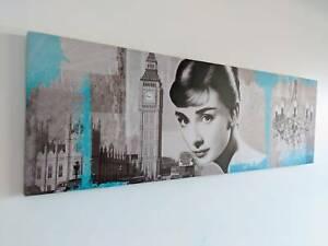 Canvas Wall Art - Audrey Hepburn - Canvas Print Art