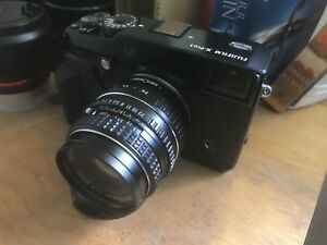 Fuji Fujifilm X-Pro1 Mirrorless Camera+ Pentax M 50mm f1.7