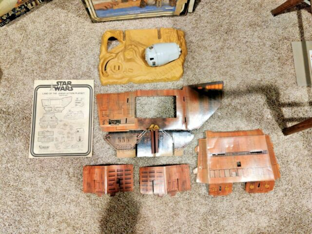 Star Wars Vintage Land of the Jawas Action Playset USED Complete Kenner 1977