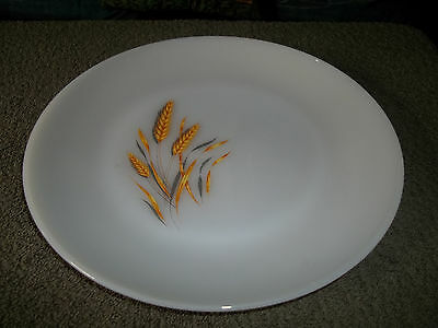 "Vintage Fire King ""Wheat"" 10-in. Dinner Plate Circa 1960's"