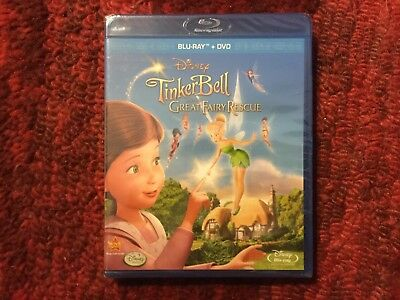 Disney : TinkerBell and the Great Fairy Rescue : 2-Disc Blu-ray / DvD Set - Tinkerbell Movie