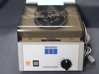 Metpath Vanguard V6500 Centrifuge High Speed 3400 Rpm Laboratory Grade Medical