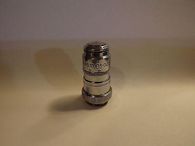Zeiss M.j. Apo 40x Microscope Objective Lens Iris Apochromat 160mm
