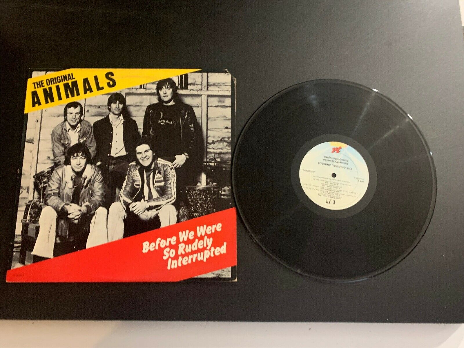 LP RECORD - THE ORIGINAL ANIMALS - BEFORE WE WERE SO RUDELY INTERRUPTED JET REC - $9.99