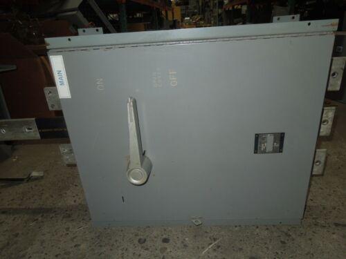 Westinghouse Fdp Unit Fdp326tr 600a 3p 240v Single Fusible Panelboard Switch