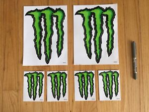Monster Energy decals! Can't buy these!!!