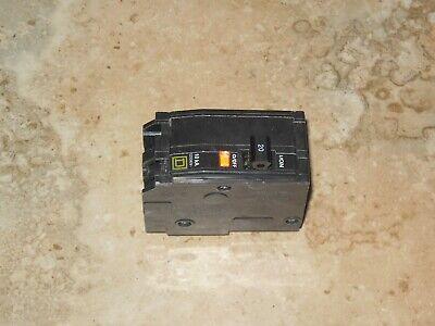 Lot Of 5 Square D Circuit Breaker Qo220 20amp 20amp 2pole New