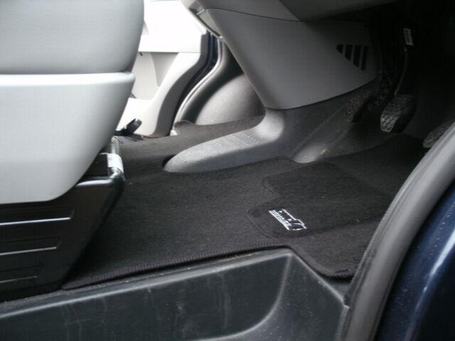 CMC VW T5 Transporter Caravelle Floor Mat Double Seat / 3 Seat Model In Black