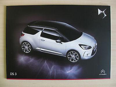 Citroen DS3 UK Sales Brochure (July 2014)