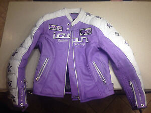 Icon Women's Kitty Motorcycle Jacket Leather