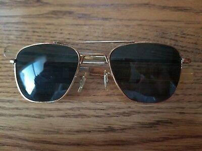 e6717320300 American Optical 1 10 12k GF 5 1 2 Aviator Sunglasses Vietnam