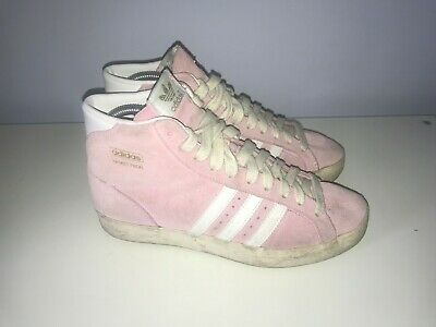 Pink Womens Basketball (adidas womens size 5 basketball baby pink suede trainers)