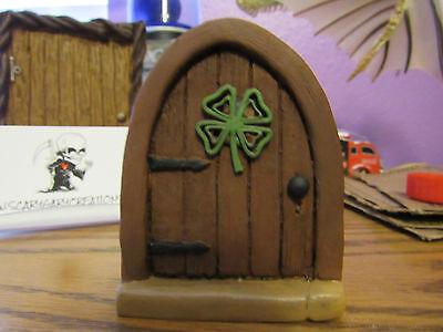 Celtic Fairy door, Fairy door, mouse door Gnome door for miniature fairy garden