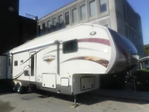 2014 gulf-stream Canyon Trail 37RBDS 37 Foot Fifth Wheel Travel