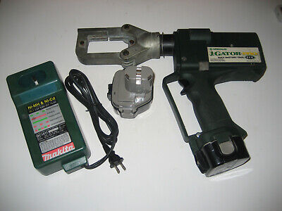 Greenlee Gator Pro Ccx With Two New Batteries Makita Dc1411 Charger