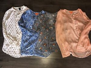 Four Women's Blouses - Size Small - All Four for $10