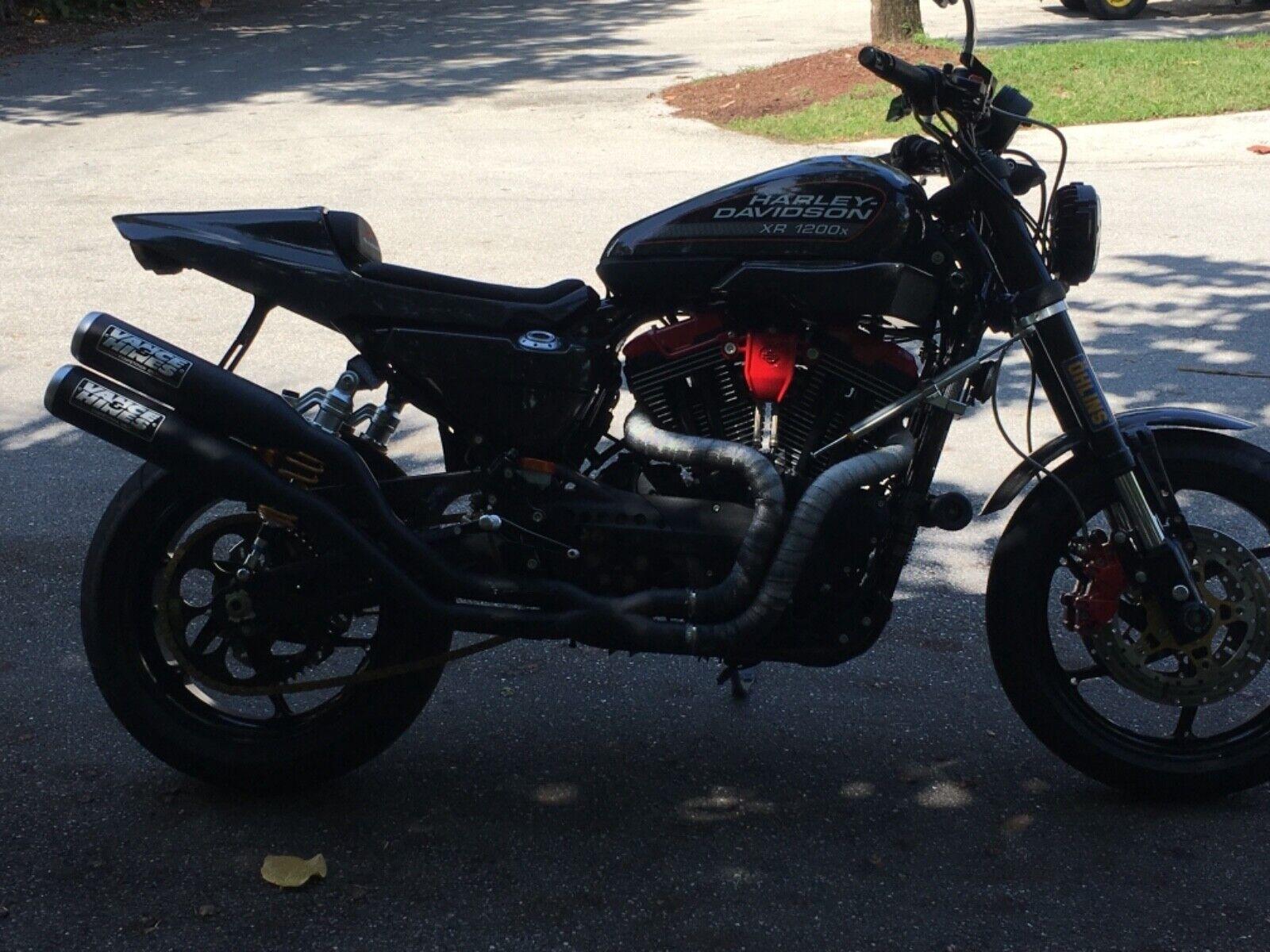 Harley xr1200x full custom NO RESERVE street fighter cafe racer supermoto