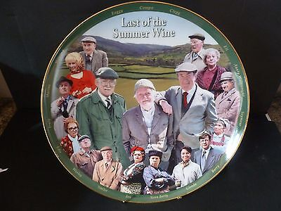 Danbury Mint Last Of The Summer Wine Collector Plate