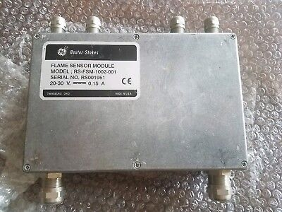 Ge Reuter- Stokes Model Rs-fsm-1002-001 Flame Sensor Module New Without Box