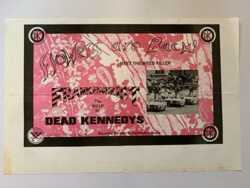 """Original 1985 DEAD KENNEDYS Promo Poster Frankenchrist Punk kbd 35"""" x 23"""" Dorm"""