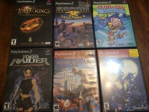 12 assortments of PS2 games (prices is in the description)