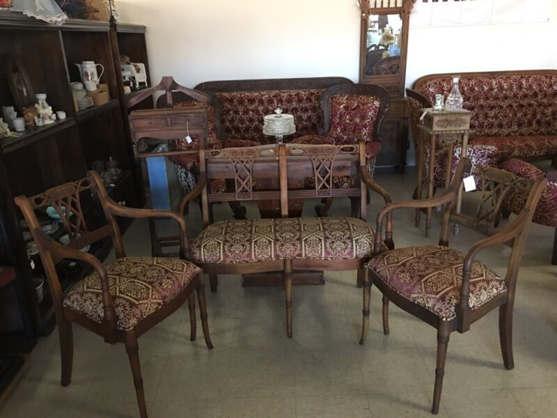 3PC Victorian Seaters (double chair and 2 single chairs)