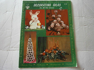 Decorating Ideas For All Year Round Craft Pattern Book Halloween Christmas 1970 - Decorations Ideas For Halloween