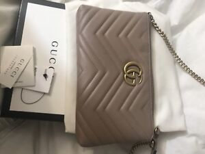Gucci marmont -nude